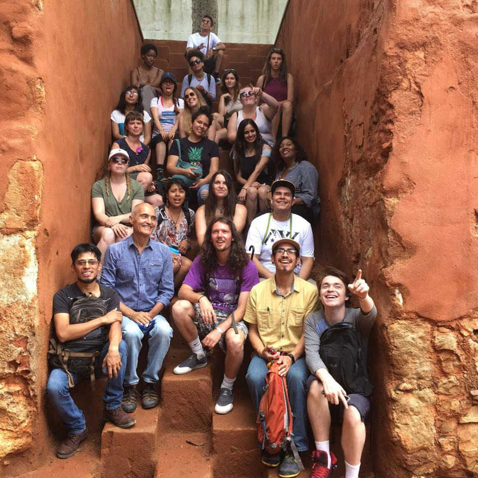 Students studying abroad in Oaxaca, Mexico.
