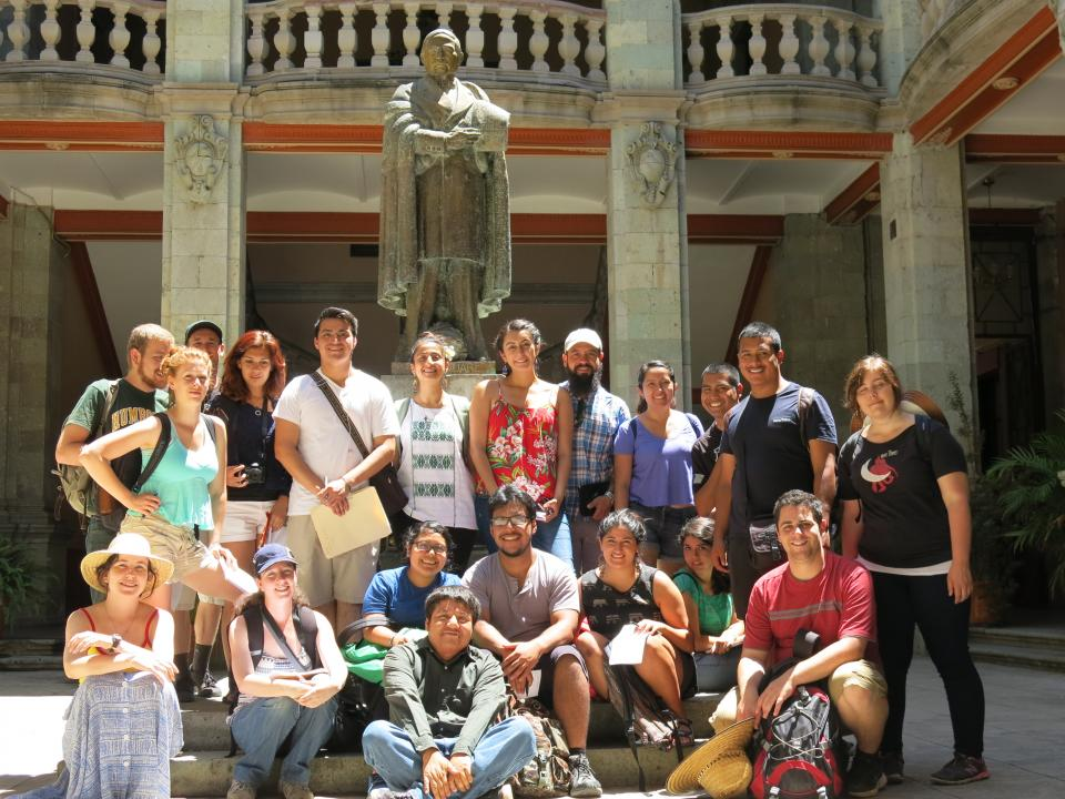 WLC students participate in an exchange program to Oaxaca in 2015
